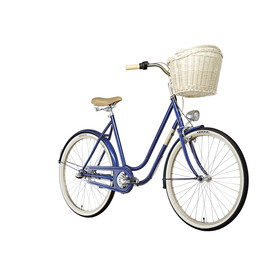 "Creme Molly City Bike Women 26"" blue"
